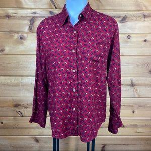 Equestrian horseback horse shirt top blouse
